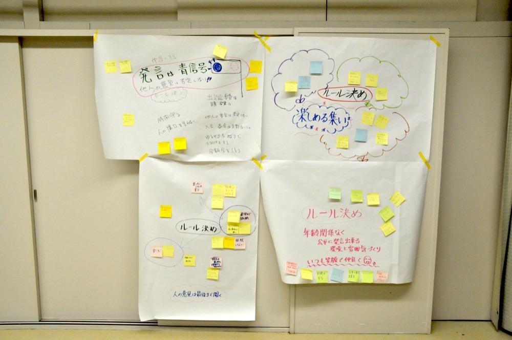 茨木市北部地域協議会のルール決め