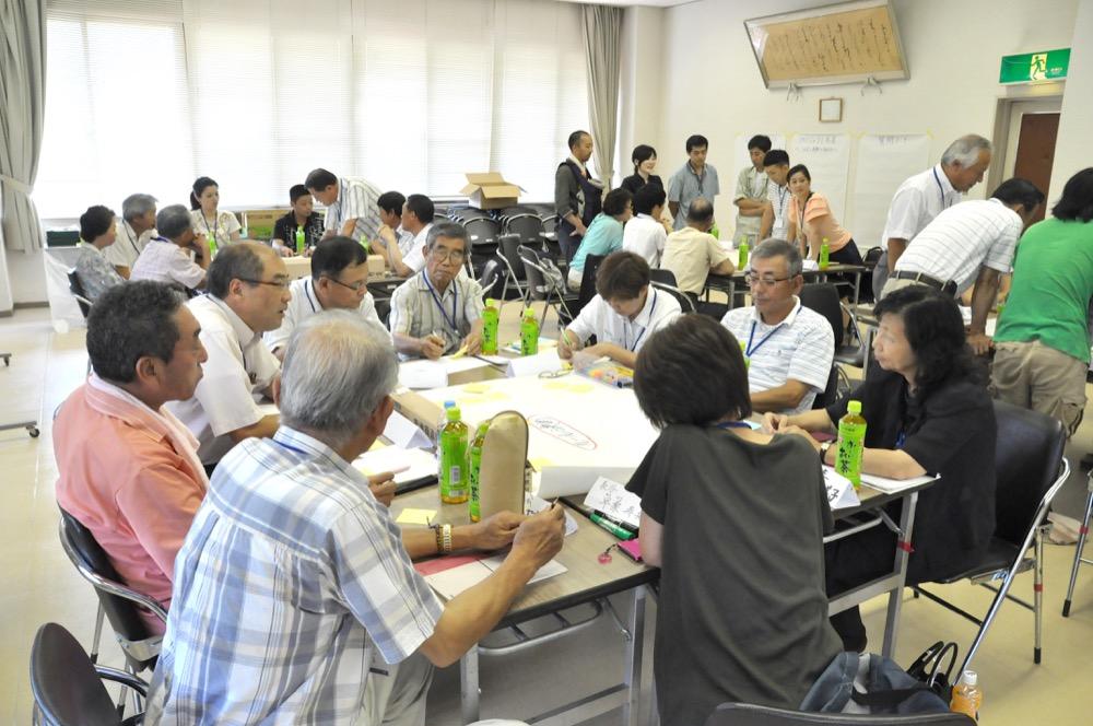 茨木北部地域協議会ワークショップ